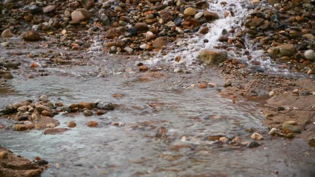 fließendes Wasser in der Natur