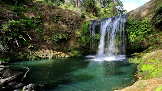 flowing water in new zealand - flowing water stock videos & royalty-free footage