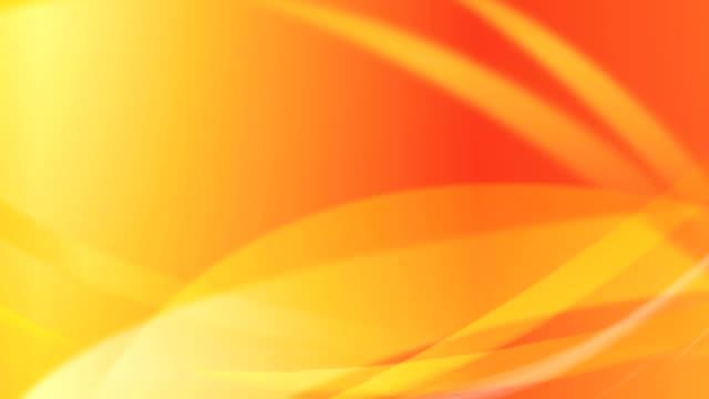 flowing waves background loop - orange colour background stock videos & royalty-free footage