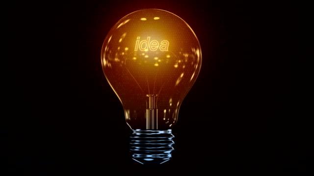 Fluctuating Idea Bulb