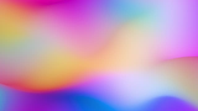 Fluid Rainbow Gradient Prism Waves