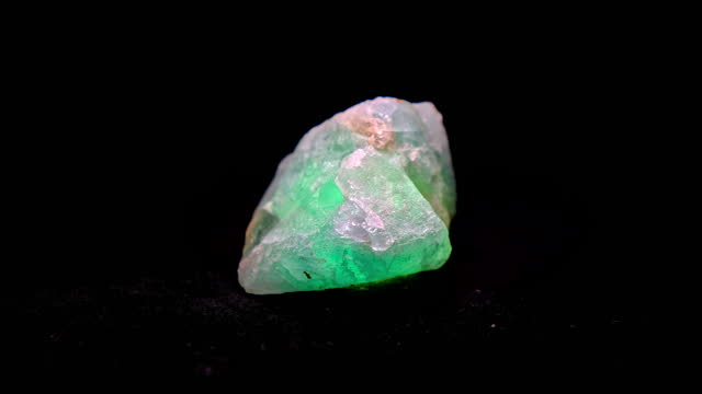 fluorite mineral - stone object stock videos & royalty-free footage