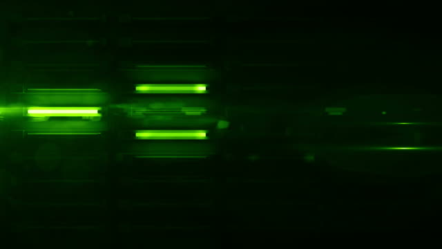 fluro light wall background loop - green glow (full hd) - fluorescent stock videos & royalty-free footage