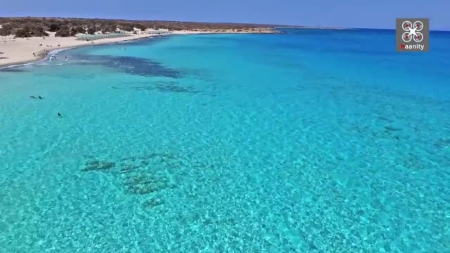 fly and dive into the absolute paradise of the libyan sea, the southernmost uninhabited island of greece, with its exotic beaches, cedar forest and... - bucket list stock videos & royalty-free footage