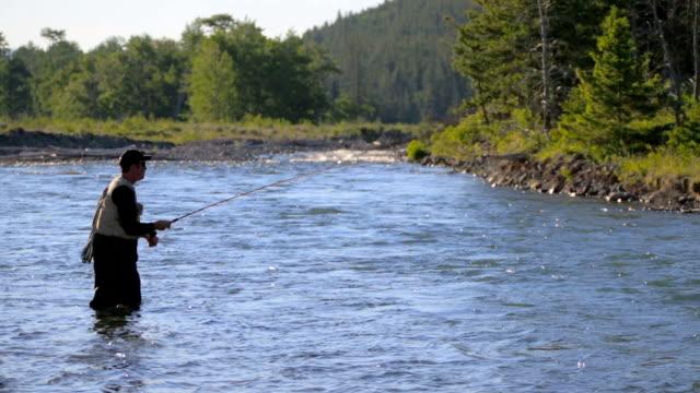 Fliegenfischen im malerischen River