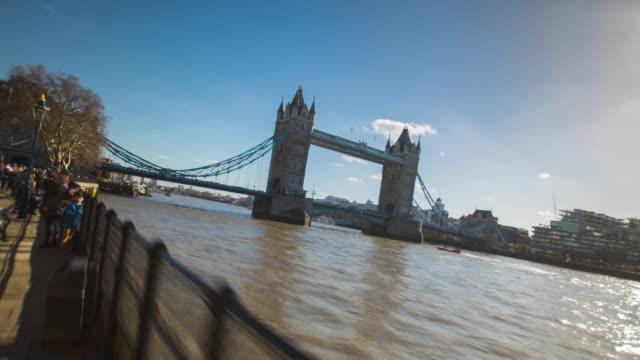 Fly Hyperlapse Tower Bridge London