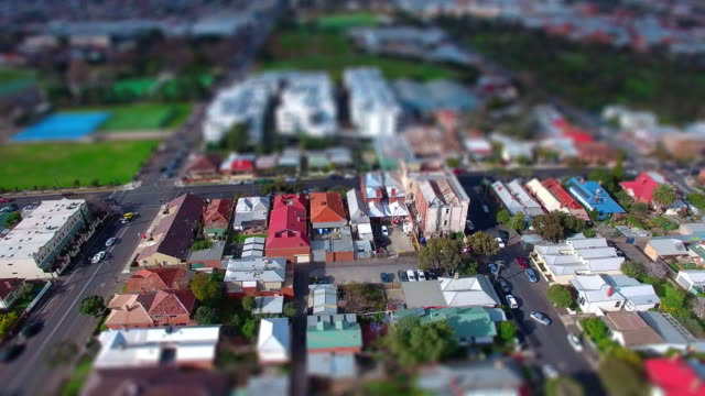 a fly over a typical australian suburb. - david ewing stock-videos und b-roll-filmmaterial