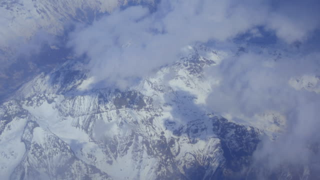 fly over alps and montblanc - mont blanc stock videos & royalty-free footage