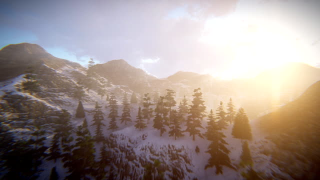 fly over mountains - extreme terrain stock videos & royalty-free footage