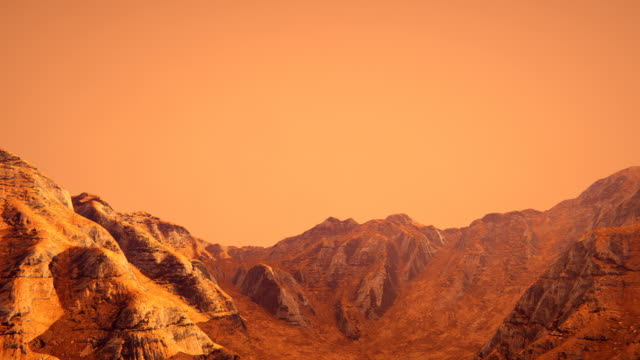 fly over planet mars - surface level stock videos & royalty-free footage
