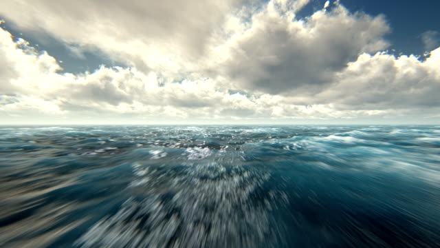 fly over rough seas - ocean tide stock videos & royalty-free footage