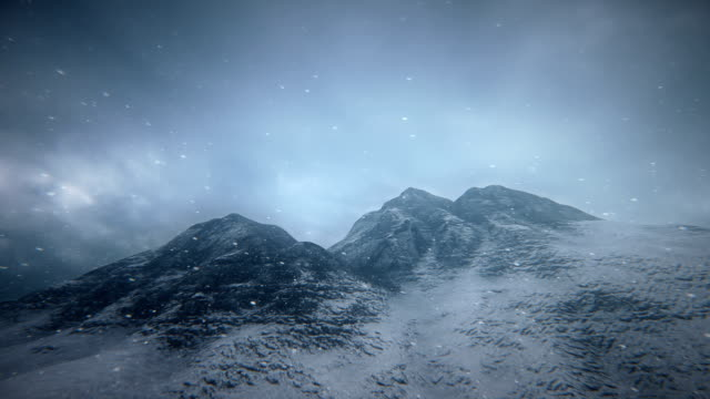 fly over snowy mountains - snowcapped mountain stock videos and b-roll footage