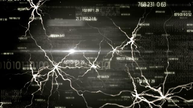 Durch eine digitale Gehirn