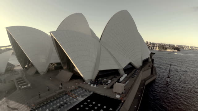 Fly through Sydney Opera House sails to reveal Sydney Harbor Bridge