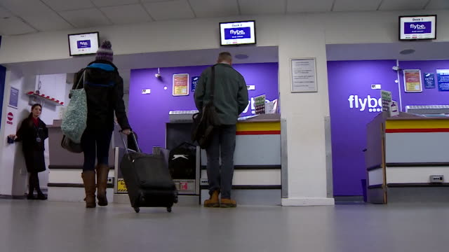flybe free check in at airport