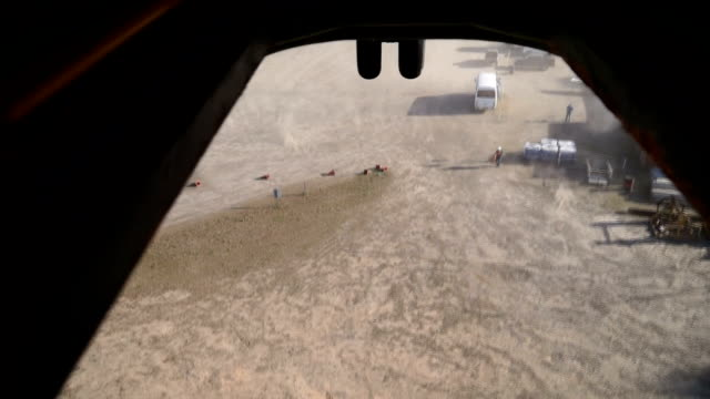 stockvideo's en b-roll-footage met flyby of rainforest filmed from helicopter hatch. - hatch