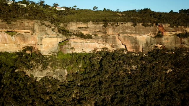 flying above majestic gorge covered with jungle - majestic stock videos & royalty-free footage