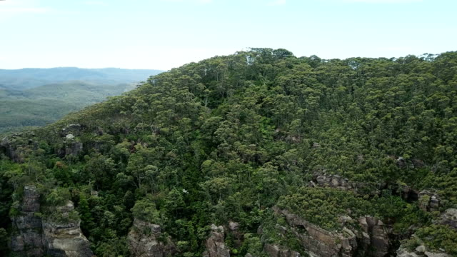 flying above majestic jungle. mountainous landscape - majestic stock videos & royalty-free footage