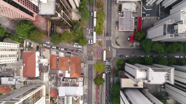 flying above sao paulo city, brazil - são paulo state stock videos & royalty-free footage