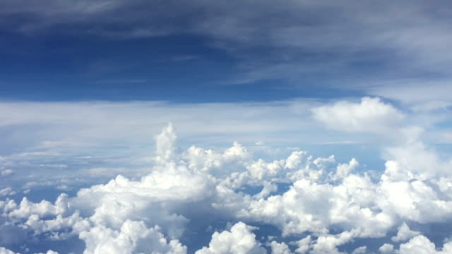 flying above the cloud sky - tracking shot stock videos & royalty-free footage