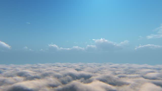 flying above the clouds - above stock videos & royalty-free footage