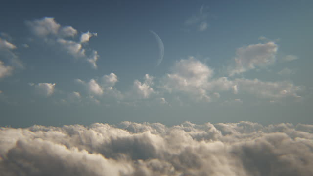 flying above the clouds - sepia stock videos & royalty-free footage