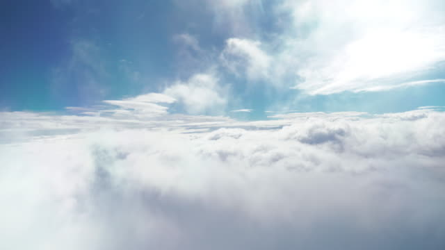 flying above the clouds - flying stock videos & royalty-free footage