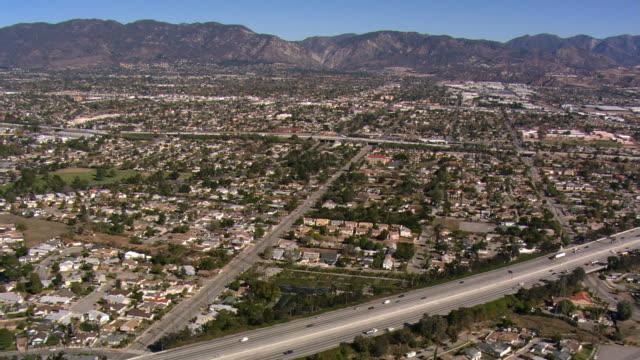 Flying across San Fernando Valley, California. Shot in 2008.