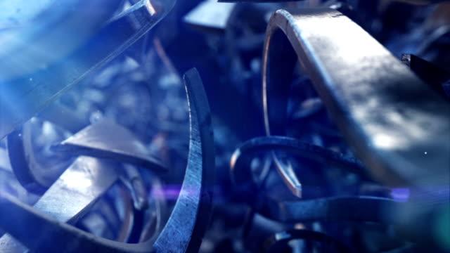 stockvideo's en b-roll-footage met flying arrows - aluminium