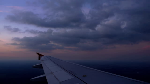 flying below the clouds - altocumulus stock videos and b-roll footage