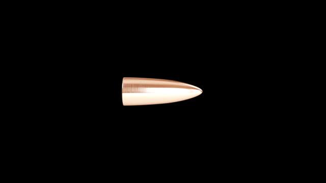stockvideo's en b-roll-footage met vliegende kogel - jachtgeweer