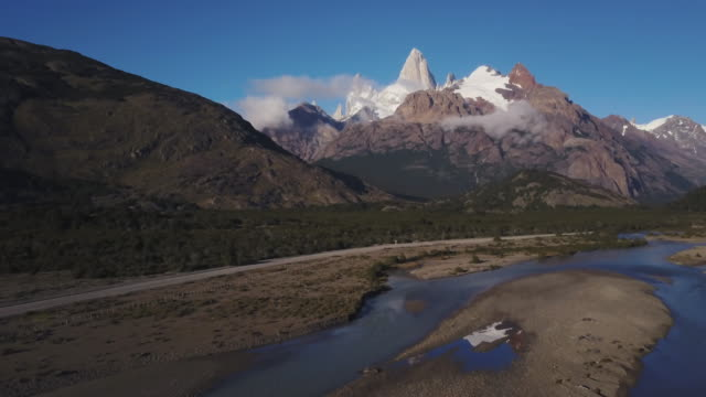 flying Fitz Roy Argentinia