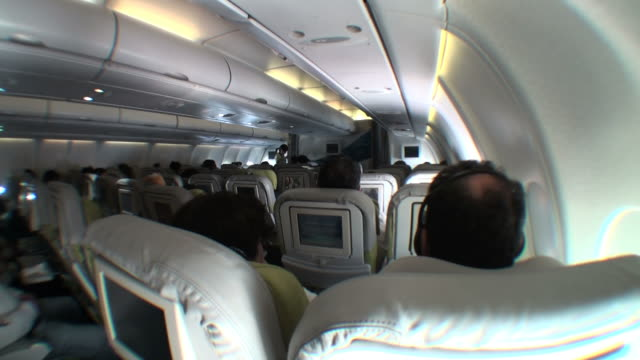 Flying in economy class