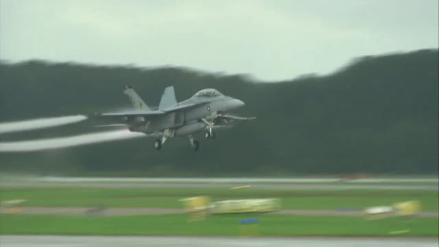 f/a-18f flying in the sky - virginia beach stock videos & royalty-free footage