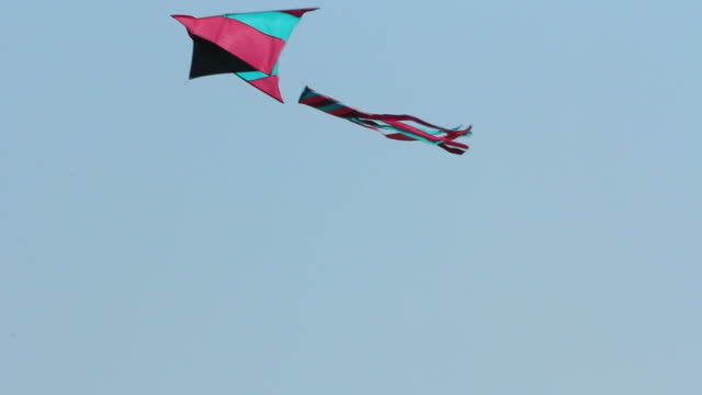 flying kite - kite toy stock videos and b-roll footage