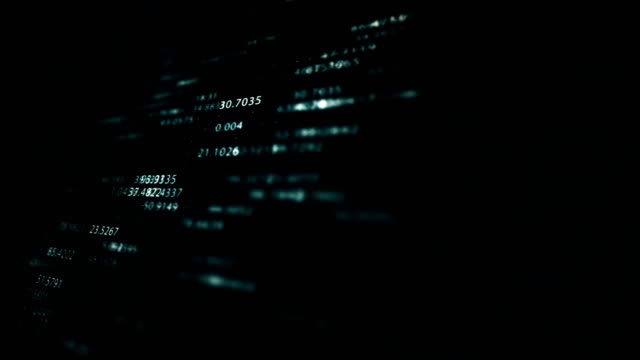 flying numbers - currency symbol stock videos & royalty-free footage