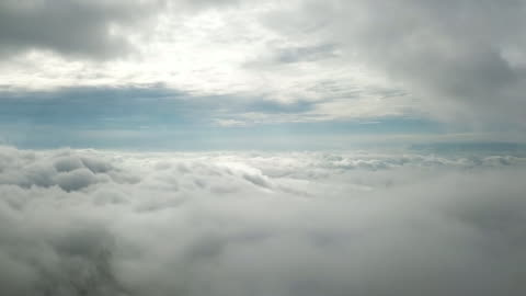 flying on cloud - stratosphere stock videos & royalty-free footage