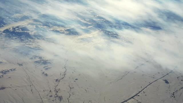 Flying over Arabic Desert