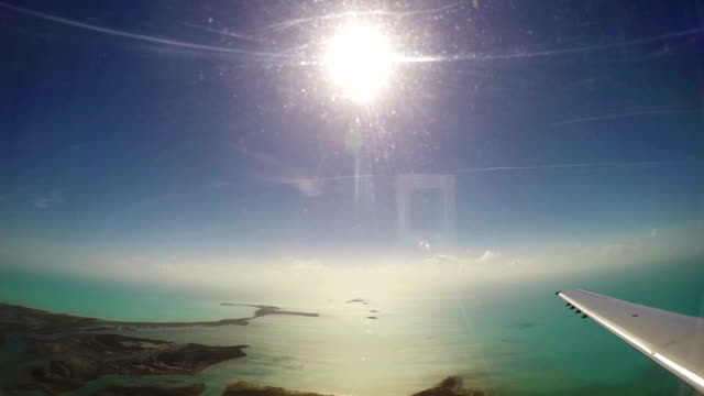 flying over bahamas - pjphoto69 stock videos & royalty-free footage