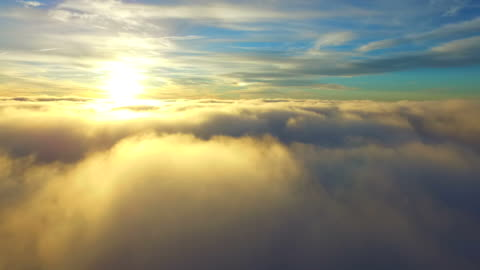 flying over clouds - high up stock videos & royalty-free footage