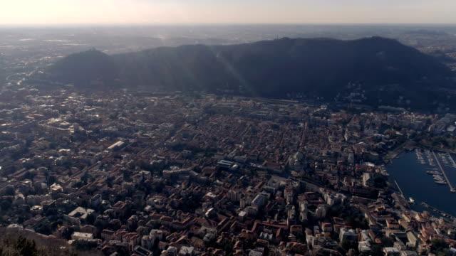 Flug über Como