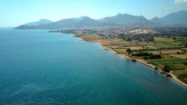flying over datca - fethiye stock videos and b-roll footage