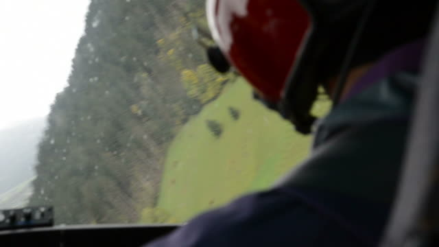 Flying over the Alps - inside a helicopter pilot's view