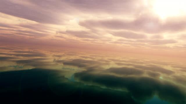 vídeos y material grabado en eventos de stock de flying over mundo. - mancha solar