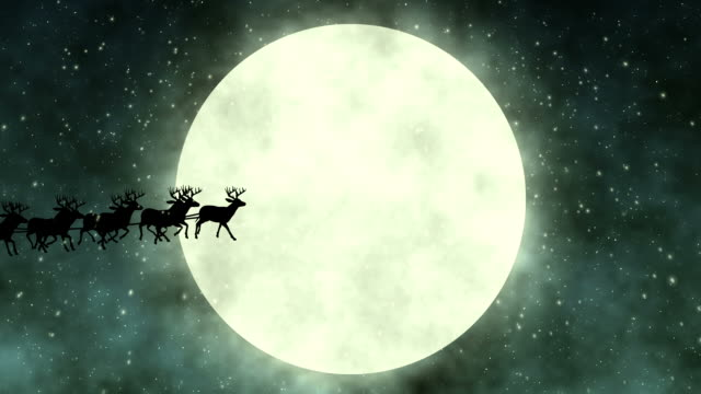 flying santa claus - father christmas stock videos and b-roll footage