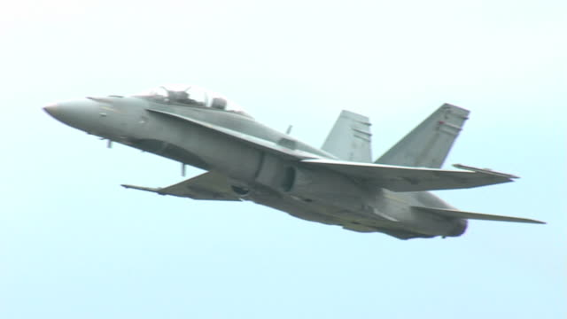 f18 flying sequence - fighter stock videos and b-roll footage