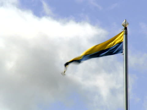 flying streamer close-up sweden. - swedish flag stock videos and b-roll footage