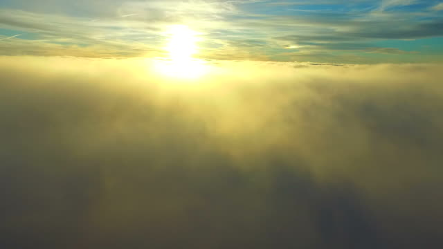 Flying through real clouds with a drone