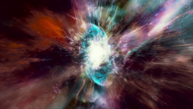 Flying through star fields and galaxies in space (Loop).