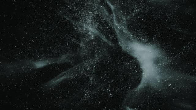 Flying through star fields in deep space (Loop).
